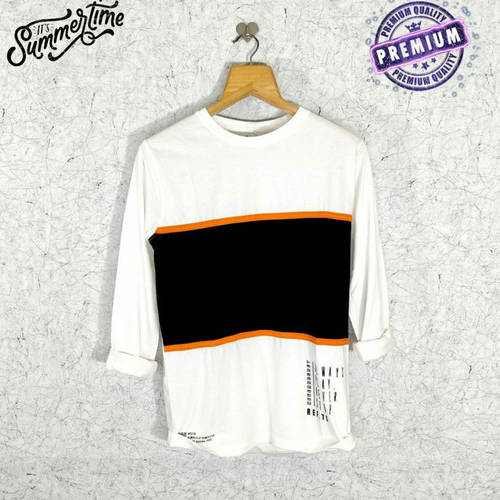 Men's Full Sleeve Round Neck Cotton T-Shirt