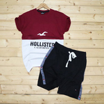 Mens T-shirt & Shorts Combo