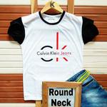 Men's Half Sleeve Round Neck Cotton T-Shirt K