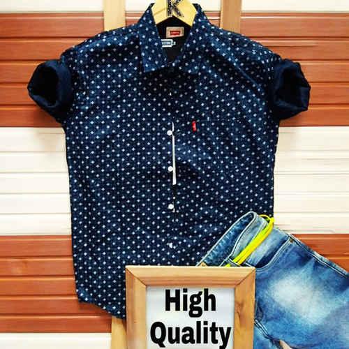 Men's Pure Cotton Shirt K