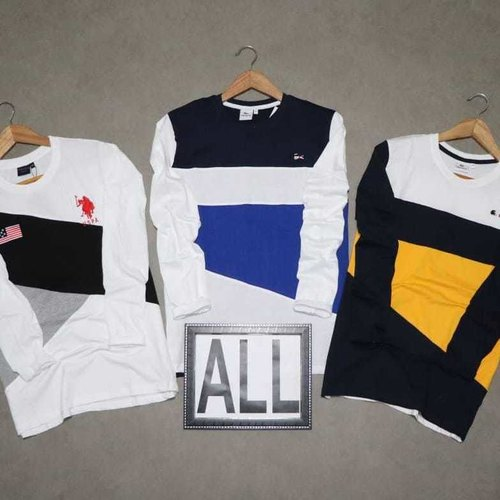 Men's Full Sleeve Round Neck T-Shirt Combo