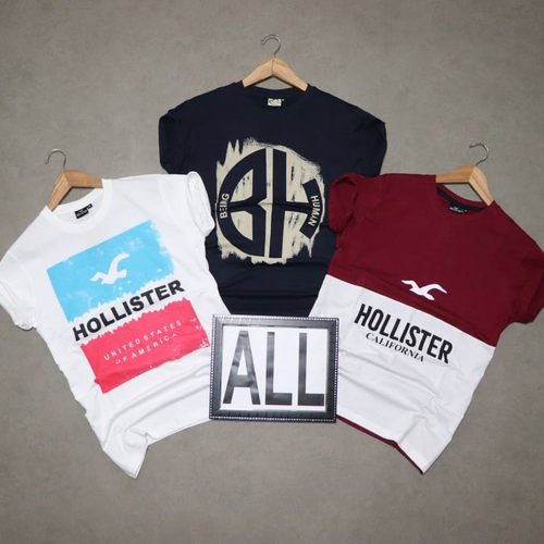 Men's Half Sleeve Round Neck T-Shirt Combo