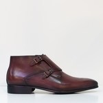 Kenneth in Antiqued Burgundy
