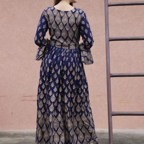 rich gown