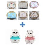 One Potty Set and One Swaddle FREE a gift box