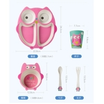 Tableware - Pink Owl Set