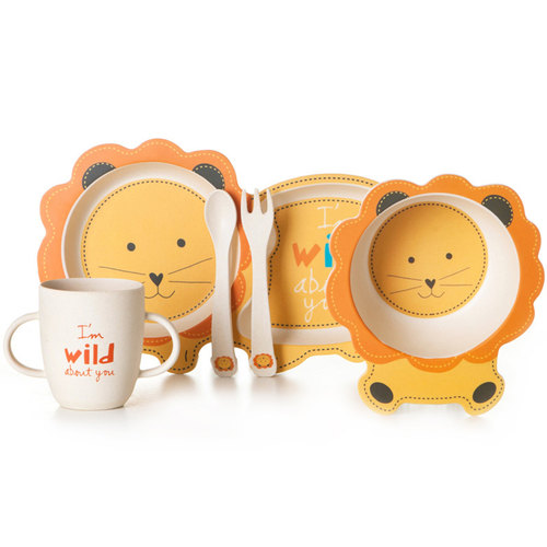 Tableware - Yellow Lion Set