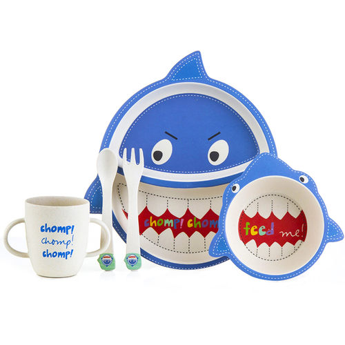 Tableware - Blue Shark Set