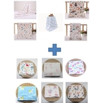 One Bath Towel and One Swaddle FREE a gift box