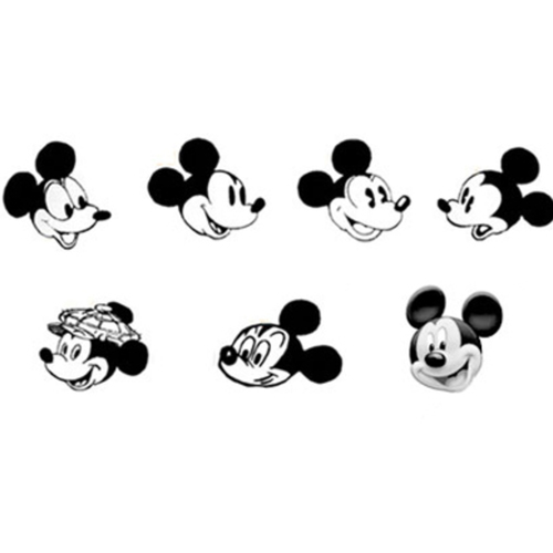 Stages of Mickey