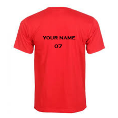 Corporate/ event customized t shirt.  Minimum Quantity 5, 165 GSM cotton
