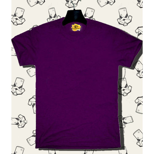 Solid Purple tee