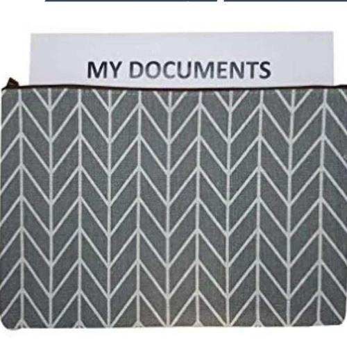Zig Zag A4 size document sleeve