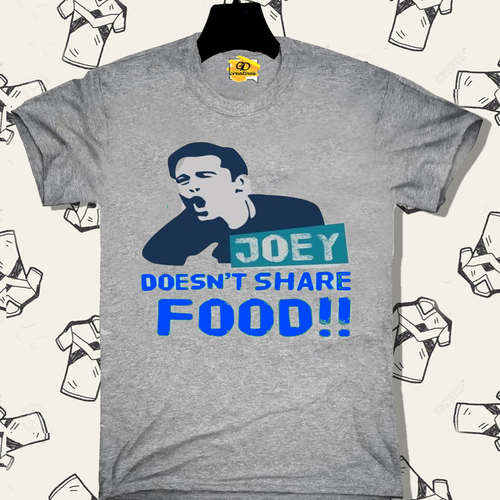 JOEY dosen't share FOOD!!