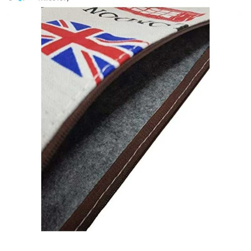 London Print A4 size document sleeve