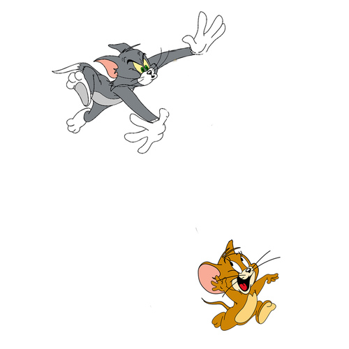 Catch me if you can Ft. Tom and Jerry