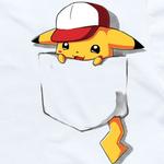 Peeking pikachu