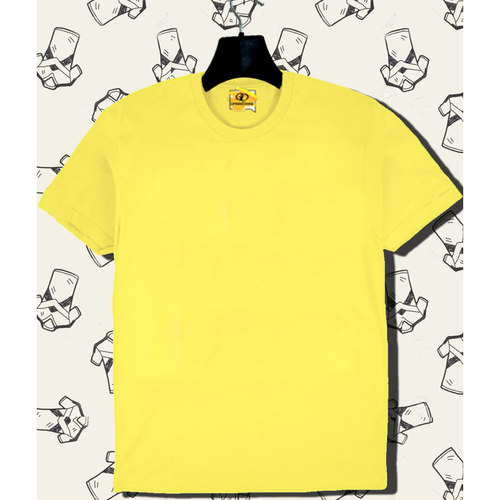 Solid Yellow tee