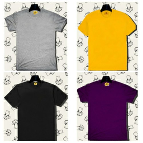 Combo cotton tshirts  pack of 4