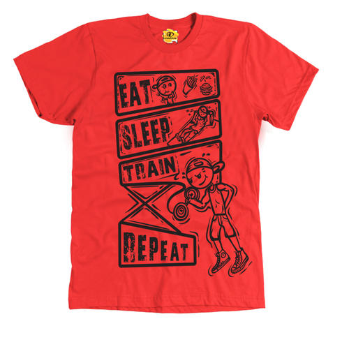Eat-sleep-train Repeat