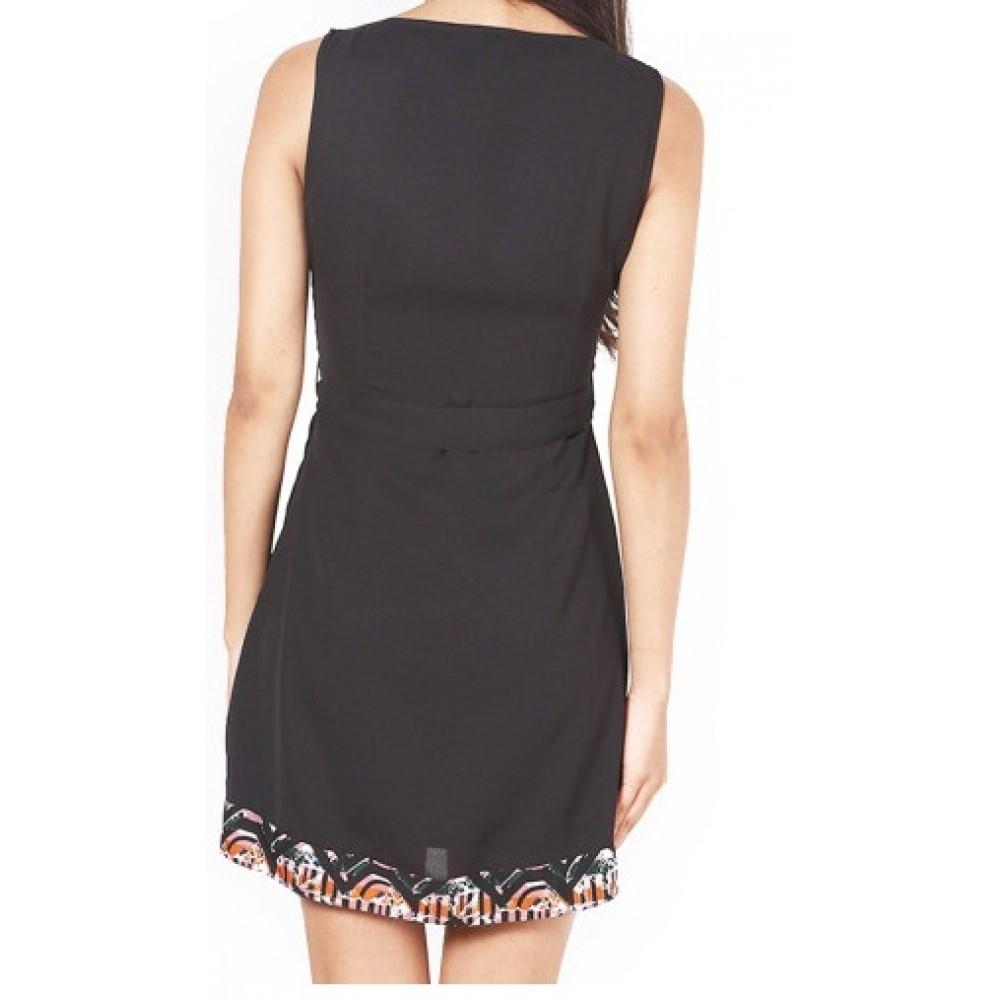 La Facon-black-tailored-dress