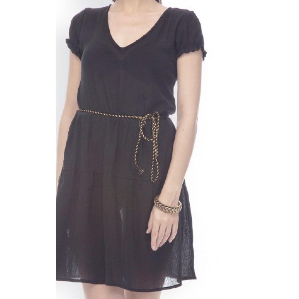 La Facon-black-a-line-dress