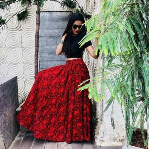 LA' Facon Digital Print Lehenga Choli