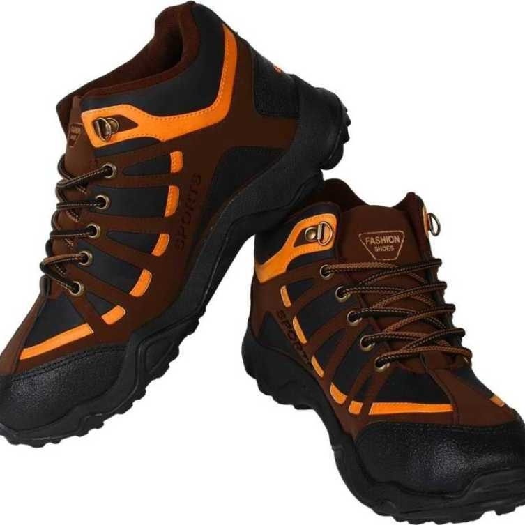 Men's Sports Trekking Shoes Walking Shoes For Men(Multicolor)