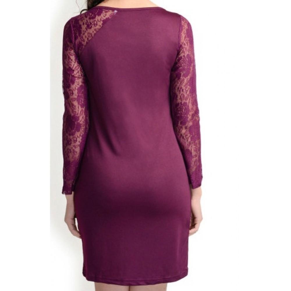 La Facon-purple-bodycon-dress