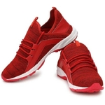 LA' Facon Sport Running Shoes for Men (Red)