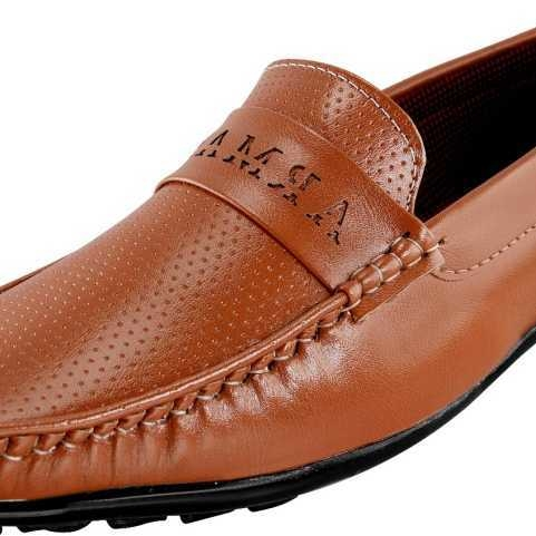 Men's Casual Loafers Shoes Loafers For Men(Tan)