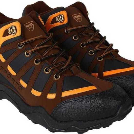 Men's Sports Trekking Shoes Walking Shoes For Men(Multicolor)