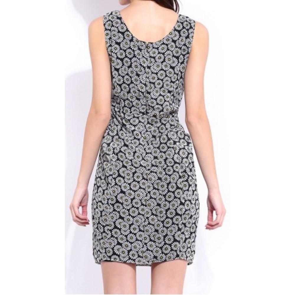 Lafacon-black--white-printed-shaper-berry-dress
