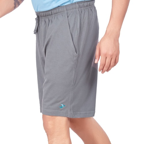 Mens WFH Shorts- Light Grey