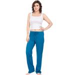 Ladies Lounge Pant- Turquoise Blue