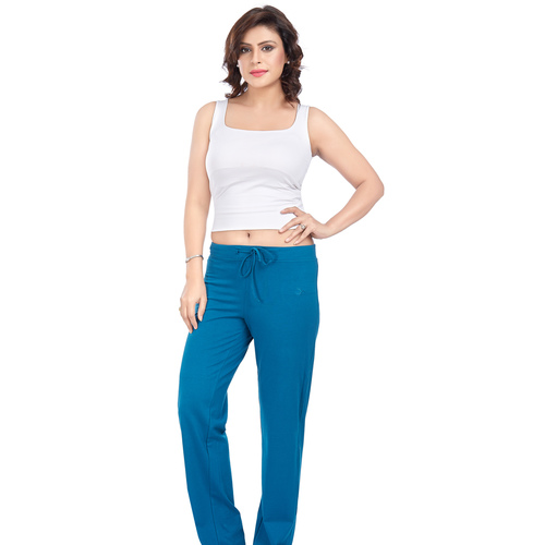 Ladies Lounge Pant- Turquoise Blue