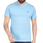 Mens Round Neck T-Shirt-Lt. Blue