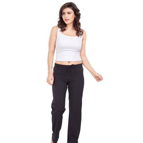 Ladies Lounge Pant- Black