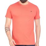 Mens Round Neck T-Shirt- Tomato