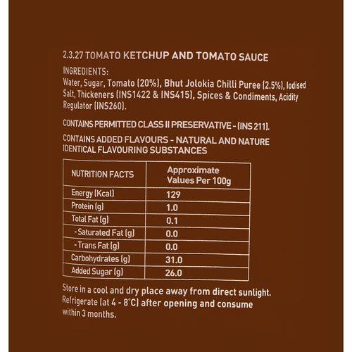 ENE Bhut Jolokia Ghost Pepper Tomato Chilli Sauce 200ml