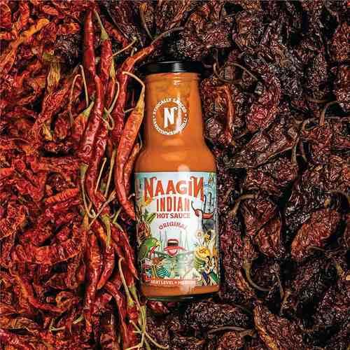 Naagin Original Indian Hot Sauce (230g)