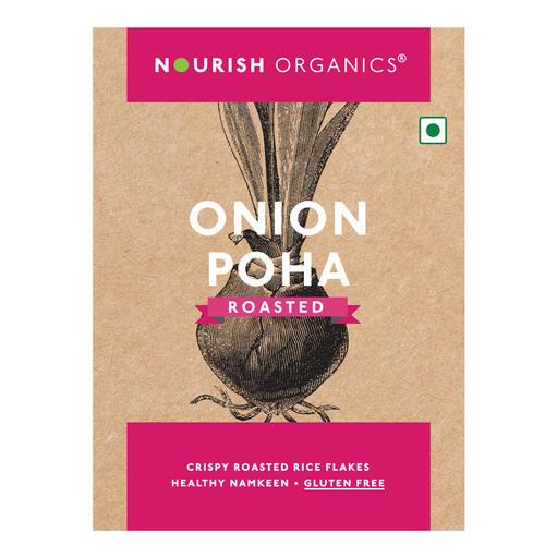 Onion Poha (Rice Flakes)