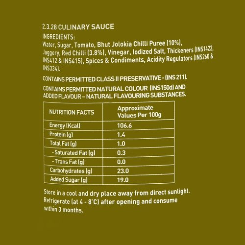 ENE Bhut Jolokia Ghost Pepper Barbeque Chilli Sauce 200ml