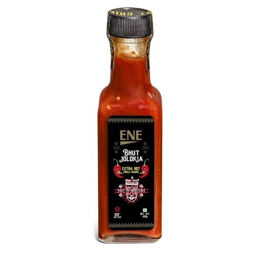 ENE Bhut Jolokia Ghost Pepper Extra Hot Chilli Sauce