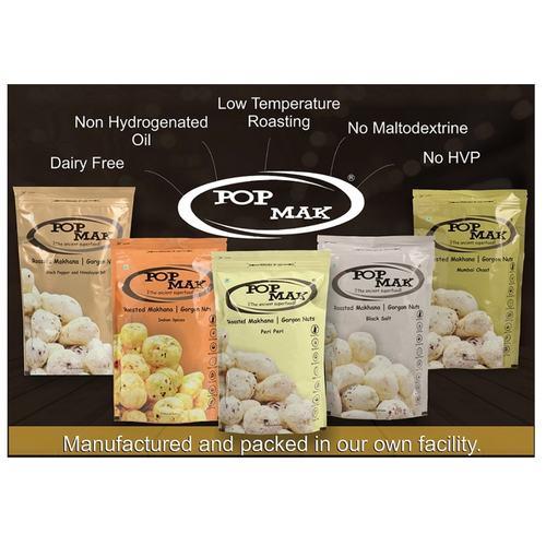 6 X POPMAK Makhanas Gorgon Nuts 6 X 80 gms