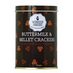 BUTTERMILK  MILLET CRACKERS - CRACKED BLACK PEPPER 100G