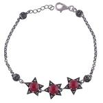 The Carnelian Silver Bracelet