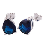The Indigo Cut Stone Studs