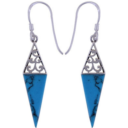 The Azure Spike Silver Earring