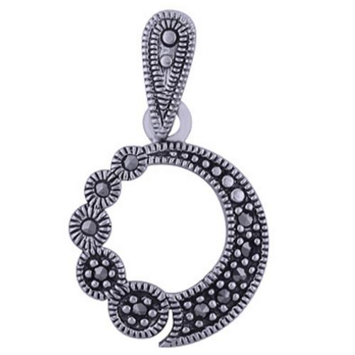 The Marcasite Silver Pendant